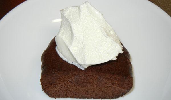 ベルギーチョコ蒸しケーキ冷凍