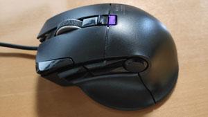 ゲーミングマウス エレコム M-DUX30BK