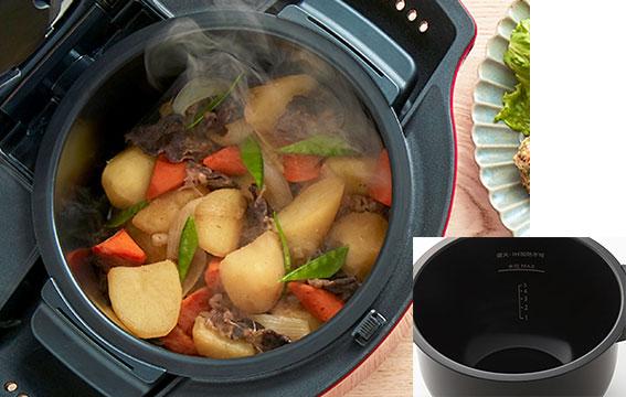 KN-HW24Fの内鍋